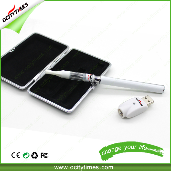 OCITYTIMES custom logo cbd oil vaporizer cartridge bud dex vaporizer pen with co2 cartridge no leakage