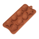 8 Cavity Silicone Chocolate Pastry Mould Silicone Baking Pan Cake Mold