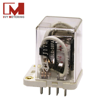 WJ174 miniature power relay 12v 40a relay 11 pin relay