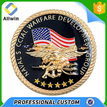 Soft Enamel Custom Design American Anniversary Gold Silver Coin