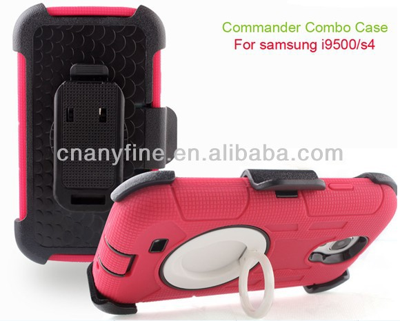 Commander Hybrid Holster Combo Cover Case for Samsung Note 3 N9000, hot sale
