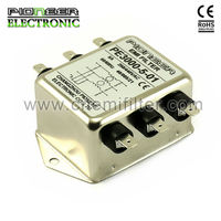 PE3000 200A general purpose three phase filter dimmer