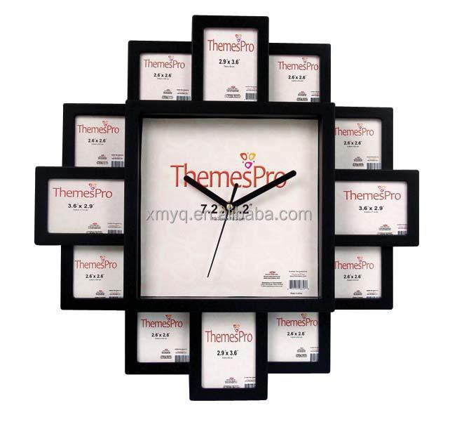 Home Decor Products Photo Frame Wall Clock Quartz Home Decor Interior Decorating Buy Home