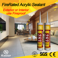Clear Fire Rated Acrylic Sealant