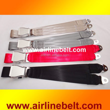 Top quality safety belt with aircraft buckle