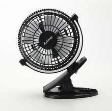 "5"" Air Cooling DC 5V Powered Small Desk Electric Fan,5 Inch Plastic Table AIr Cooler Mini USB Clip on Fan"