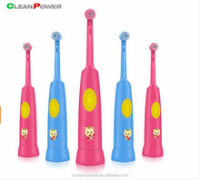 Free Customized pattern Children musical electric toothbrush