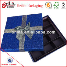 Hot selling Elegant gift box for chocolate supplier