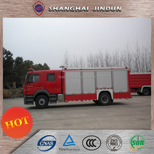 Industrial Howo Size Of Fire Truck