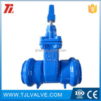 Non rising electric non-rising stem cast iron gate valve type pn16 Water gate