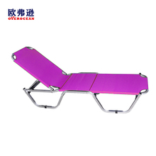 Hot sell durable steel tube portable outdoor beach bed