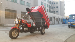Hot Sale Chinese Optional Color EEC Three Wheel Cargo Motorcycles Trike For Sale