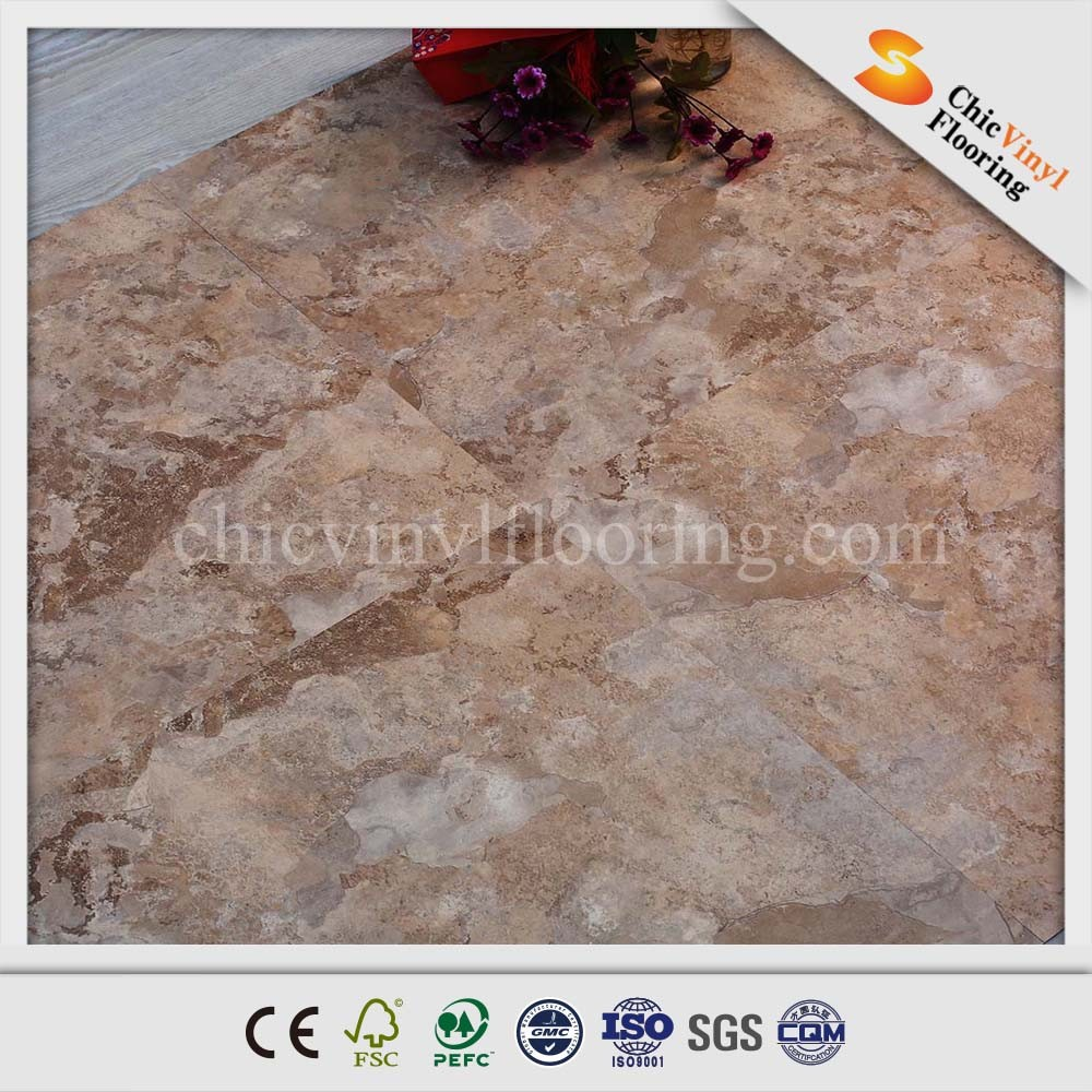 2015 New Products Stone Pattern Pvc Vinyl Flooring Prices