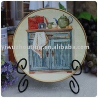 Europe Style Decorative Porcelain Plate