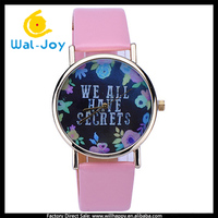 WJ-5318 newest WE ALL HAVE SECRETS personality vogue women watch