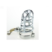 Male Chastity Cage Stainless Steel Chastity Device for man metal penis lock