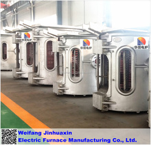 Hot sales electric crucible metal melting furnace for steel iron aluminum
