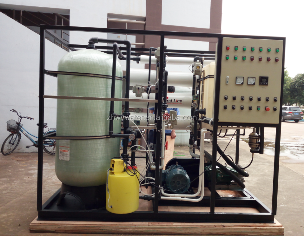 Water Filtration Facility Seawater Desalination Plant Reverse Osmosis Machinery