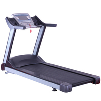 sport treadmill for young man in gym use good for health