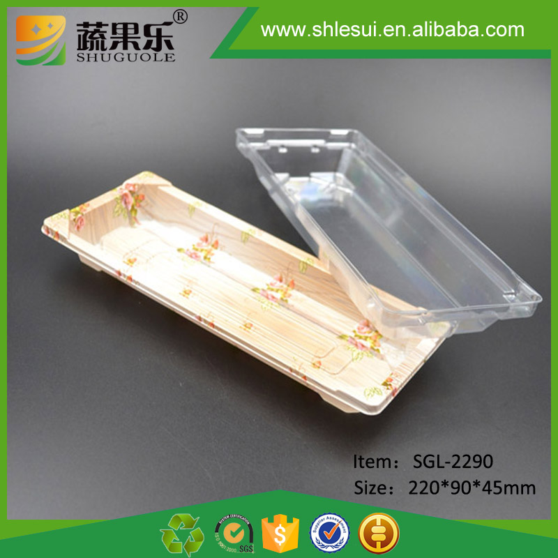 Food Packaging Disposable Plastic Sushi Box