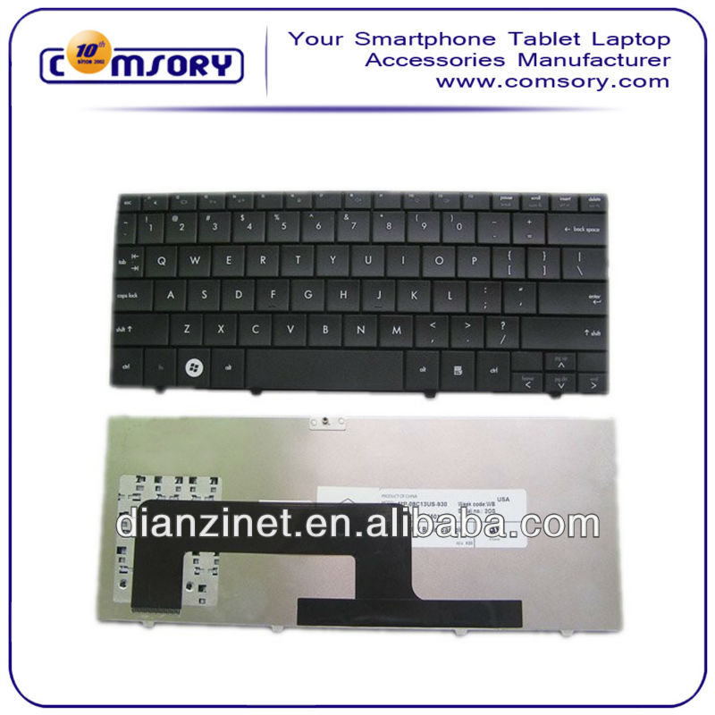 August New Arrived Greek Laptop Replce Black Keyboard Notebook Key boards For HP mini 1000 Replace Keyboards