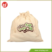 Most popular durable reusable small cotton drawstring bags