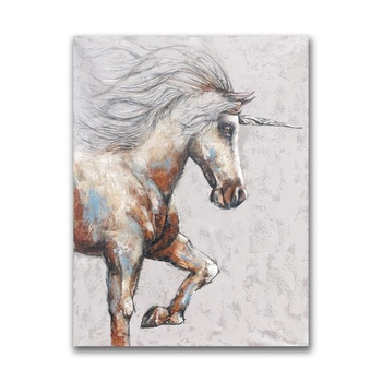 Wholesale Unicorn Canvas Painting for Living Room Wall Decoration Art