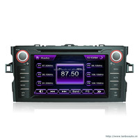 In-dash Car stereo radio/dvd/gps/mp3/3g multimedia system for Toyota android car dvd player