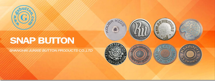 Custom Brand jeans metal snap buttons coats for