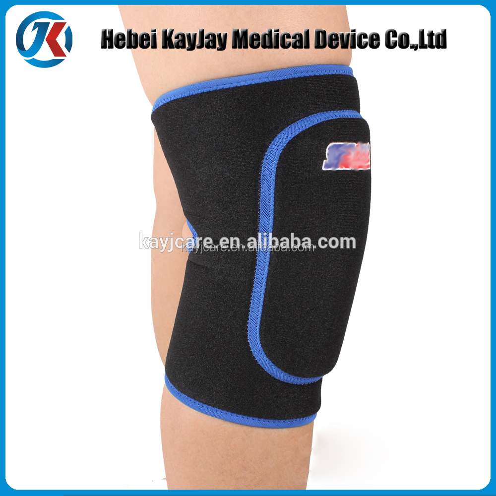Volleyball copper neoprene knee support of products made in china