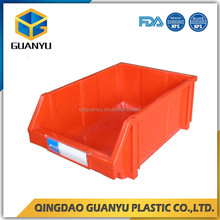 Best selling small parts organizing plastic boxes, industrial storages bins for wholesale