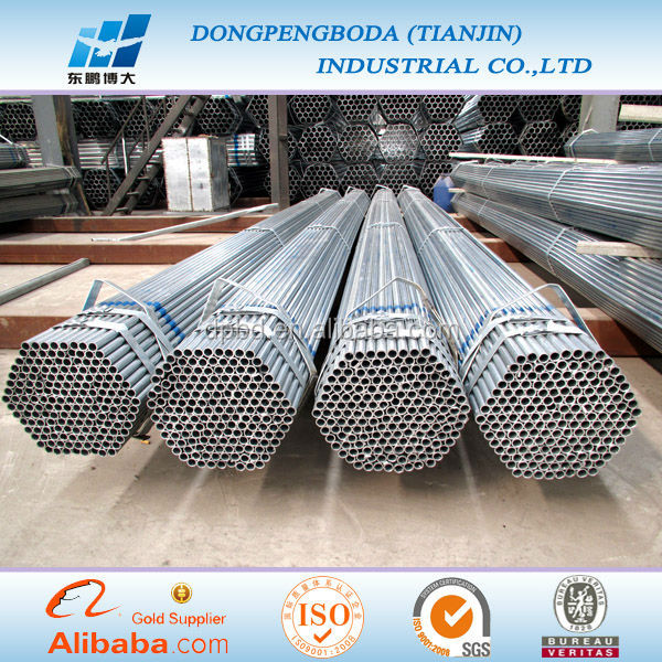 DPBD High Quality Pre Galv. Steel Pipe