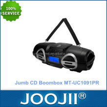 Portabel jumb cd boombox dengan bluetooth/usb/sd mp3 player