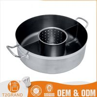 Simple Style Cheaper Customization Stainless Steel Hot Pot Casserole