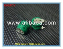 Shenzhen battery manufacture offer 1.2v 40mah nimh button cell