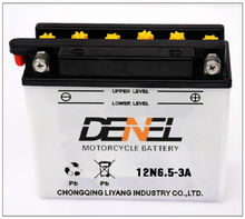 deep cycle batteries moped scooter battery 12V supplier 12n6.5-3A