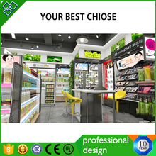 Guangdong customized cosmetic decoration perfume shop decor perfume store