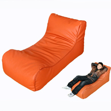 Factory Outlet Latest Designs Modern Home <strong>Furniture</strong> Orange Leather Couch Living Room Sofa
