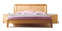wooden design bed