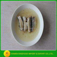 factory supplier CannedSardine in Vegetable Oil 125g export to Africa
