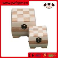 Handmade custom wooden jewelry box