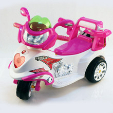 Ride on motorcycle toys three wheel children plastic motorbike with battery power