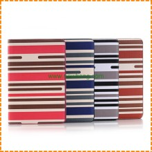 Fashion stripe Pattern PU Leather Stand Flip Case for iPad Pro 12.9""