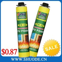 PU Self supporting foam adhesive 80% foam instantly