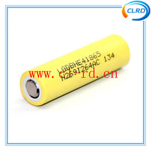 Free shipping e-cig mod battery lg he2 he4 100% authentic in stock fast delivery