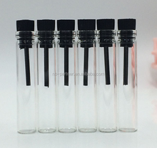 2017 2ml 3ml 5ml 10ml glass tester tubes mini glass sample perfume bottle