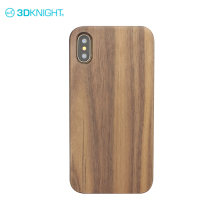 Customize universal case cover printed logo for iphone x pine wood case uv print