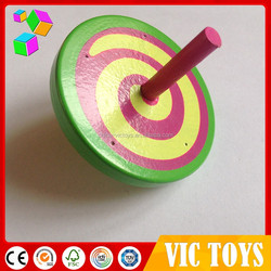 classic wood toys spinning tops