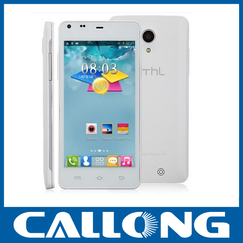 Original MT6582 THL T5S Android Phone 1.3GHZ Quad Core 4.7 inch QHD screen dudal sim 1GB+4GB 8.0MP 5.0MP Camera 3G smart phone