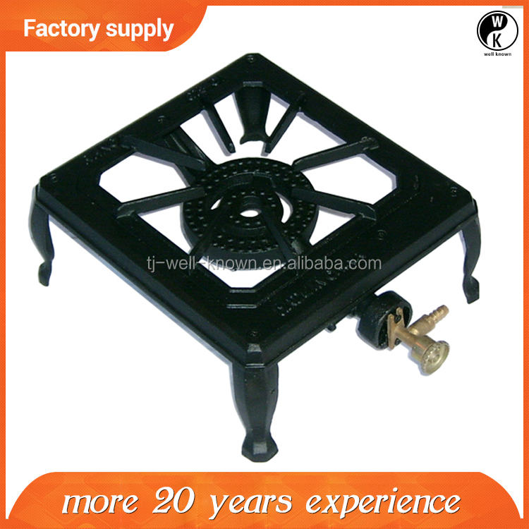 CE Approved Table Installation cast iron gas cooker , outdoor portable gas cooker